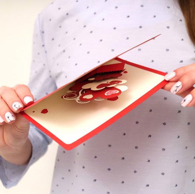 Love, Romance 3D Greeting Card
