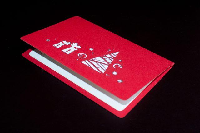 Christmas Santa 3D Greeting Card