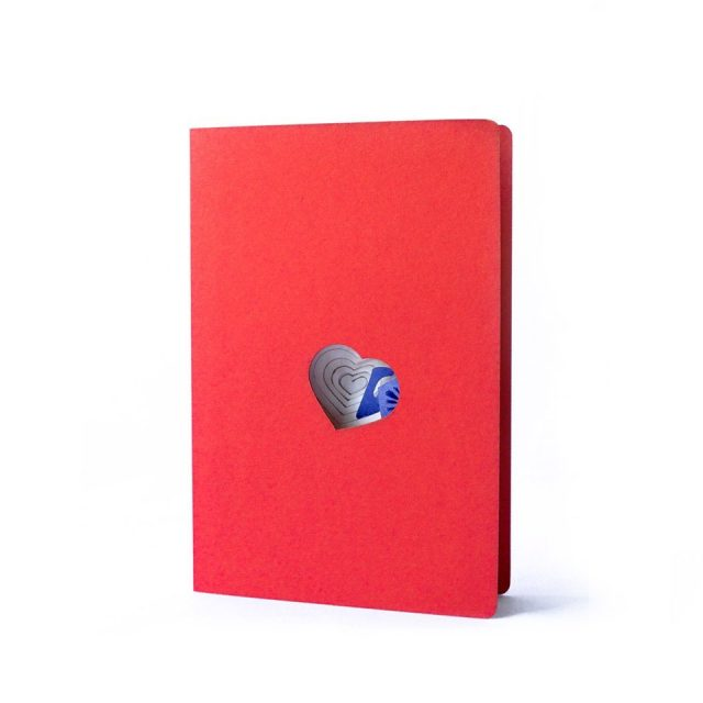 Love Word 3D Greeting Card