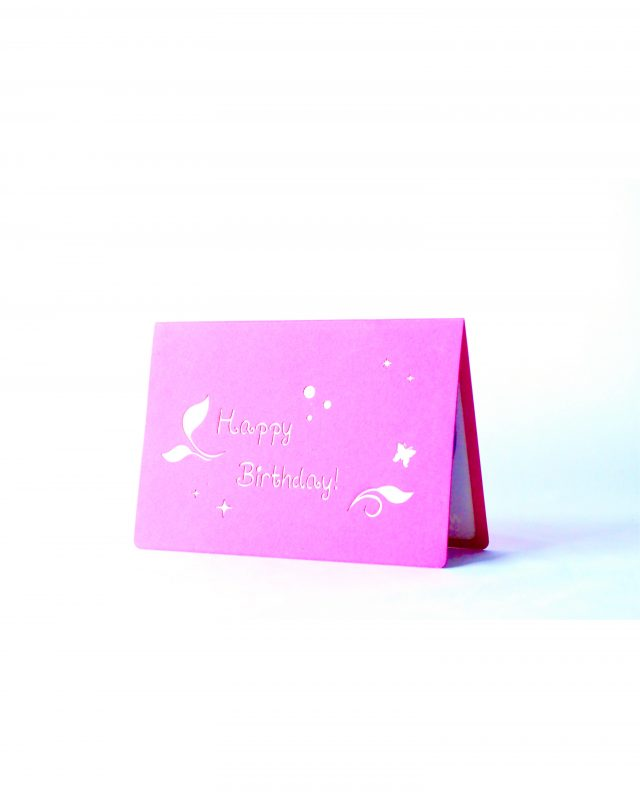 Happy Birthday Magical 3D Greeting Card