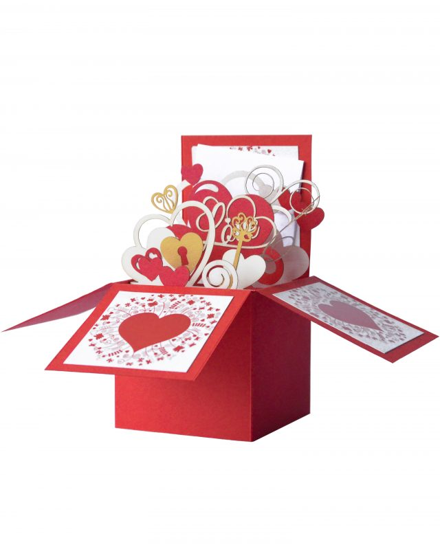 3D Romantic Greeting Box