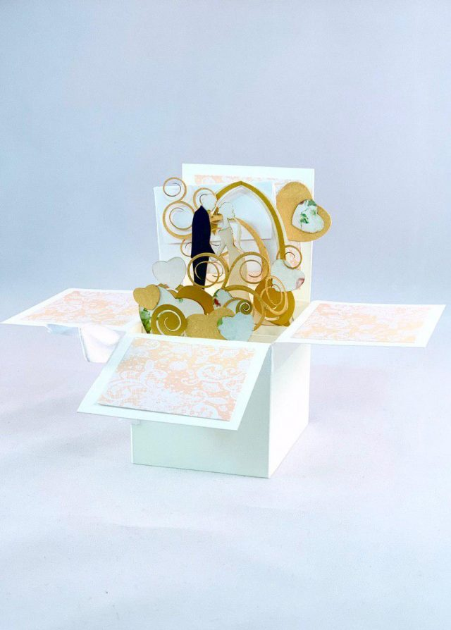 Wedding 3D Greeting Box