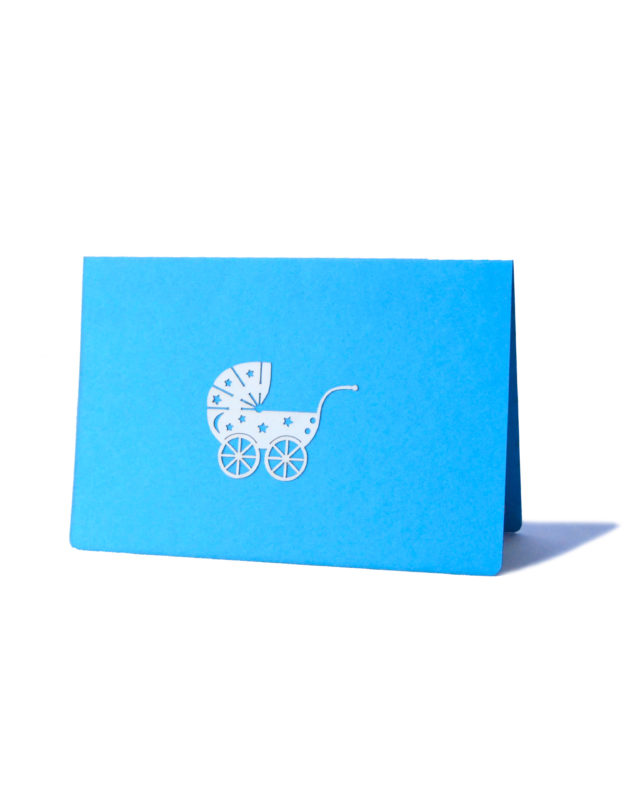 Newborn Boy 3D Greeting Card