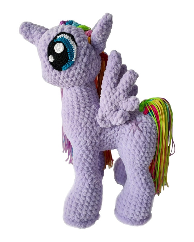Unicorn Knitted Toy