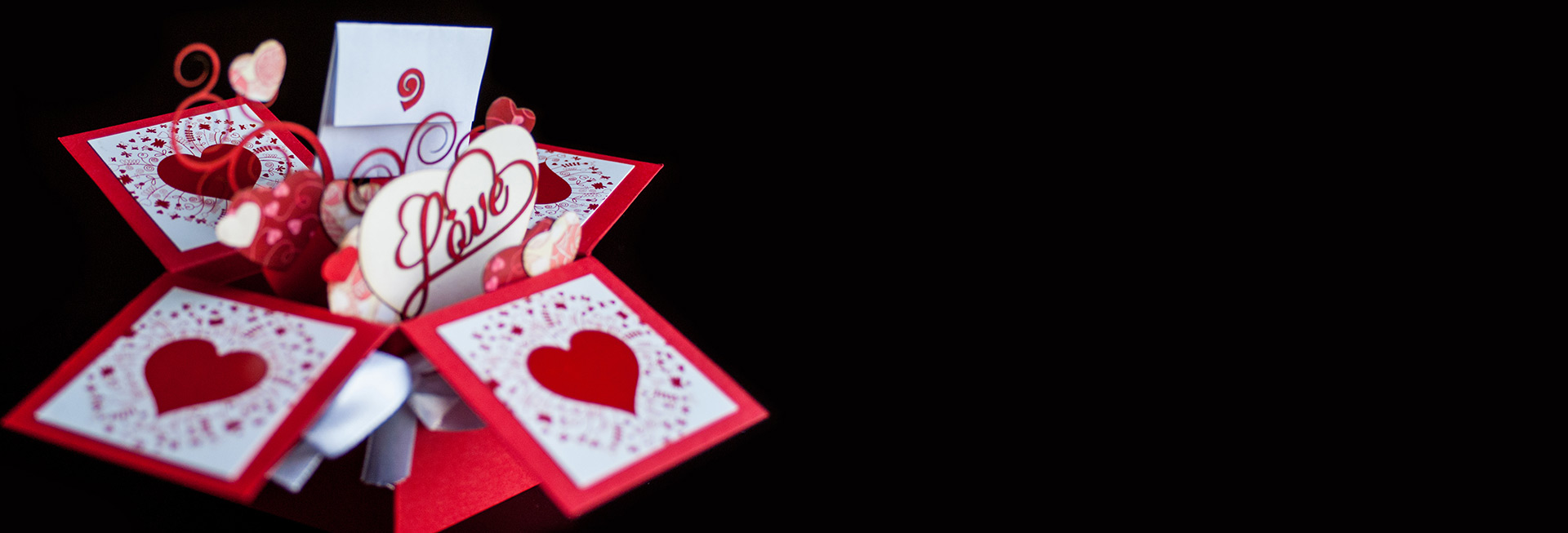 Romantic 3D Cards and Boxes