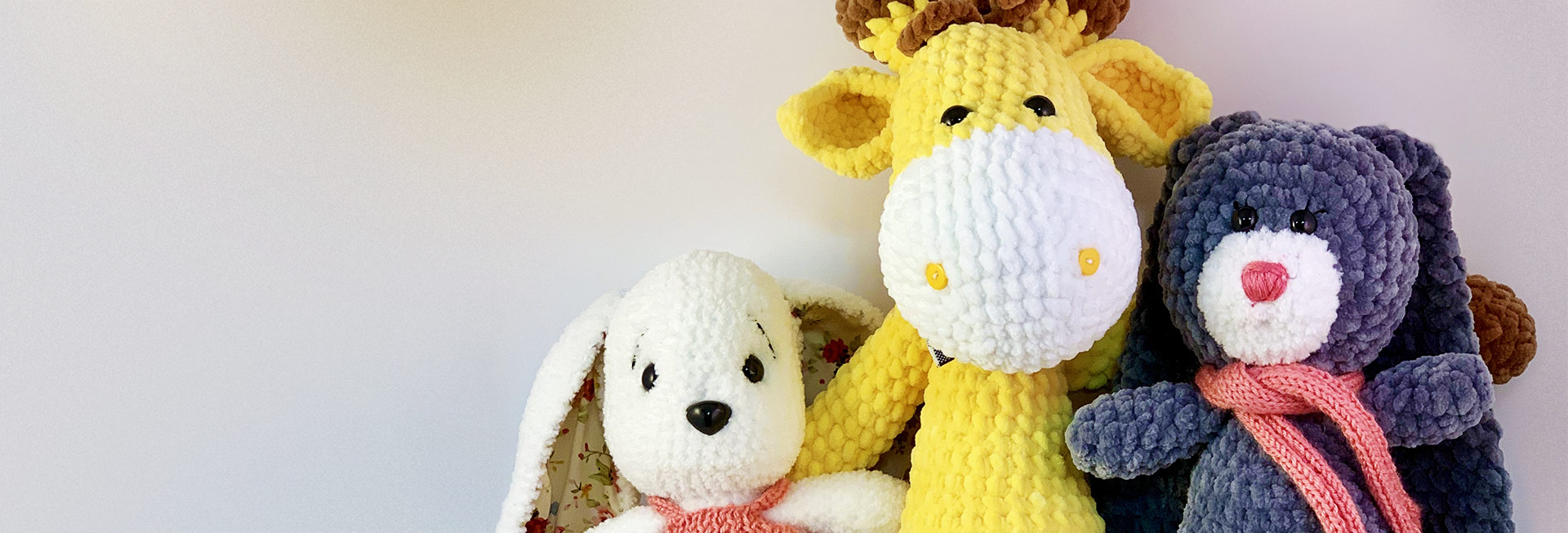 Soft Handmade Knitted Toys in Dubai
