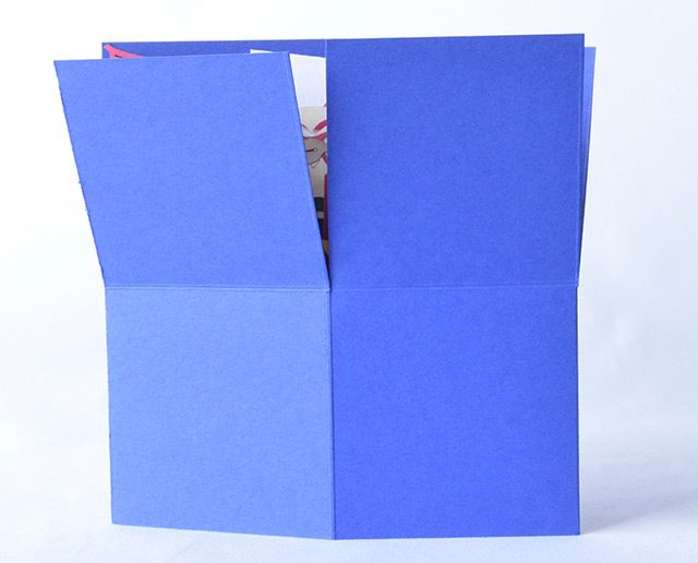Happy Birthday Blue 3D Greeting Box