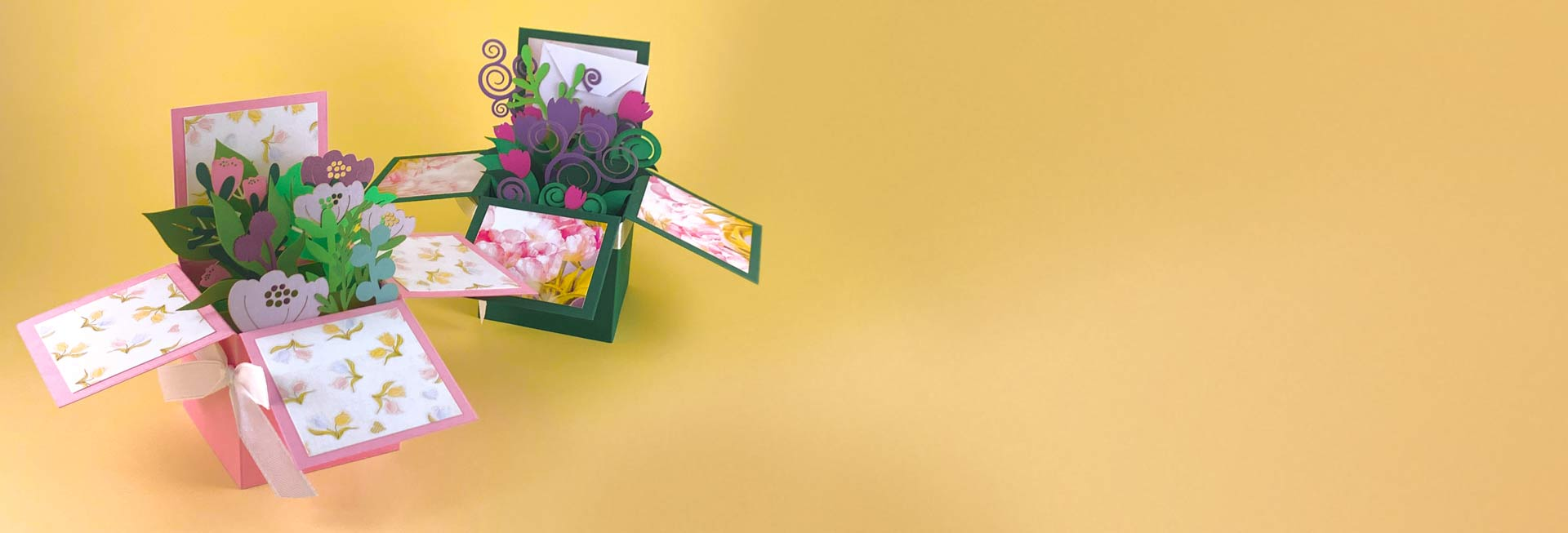 Flowers Cards and Boxes